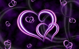 Lovely Pictures of Love – Beautiful Purple Heart