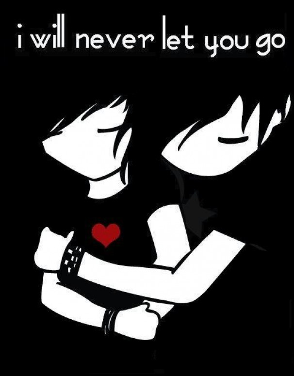 emo love pictures cartoon