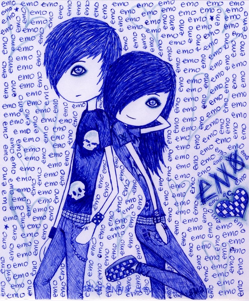emo love pictures