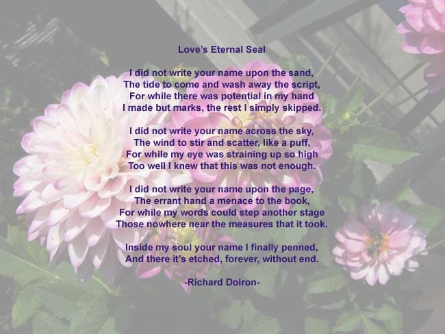 love poems with pictures for him