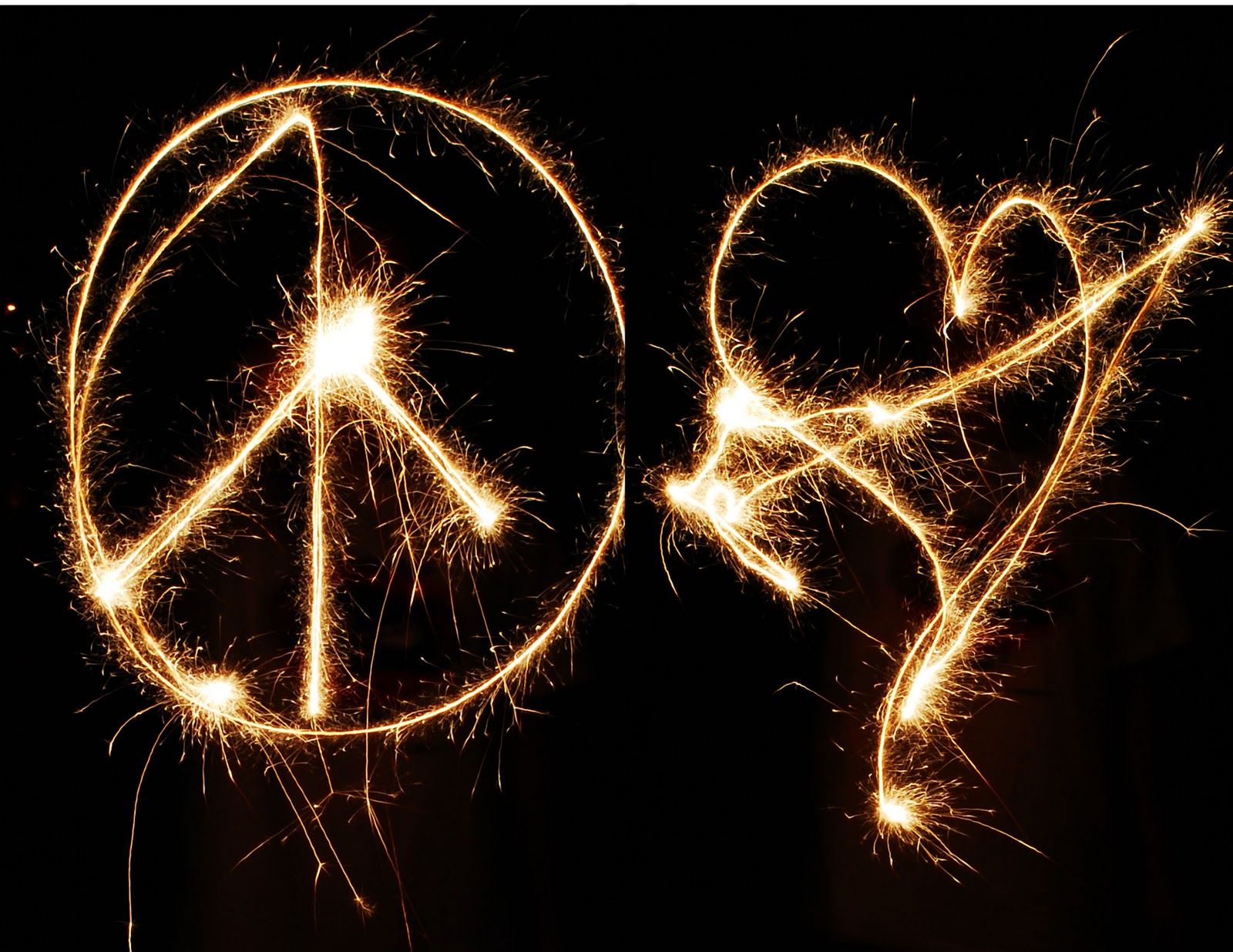 peace and love pictures