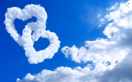 Cloud Love Heart Pictures Wallpapers
