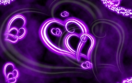 Purple Love Pictures Wallpapers