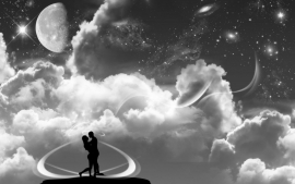 Romantic Black and White Love Pictures