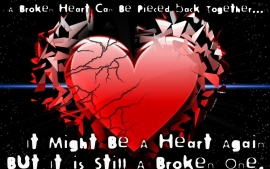 Pictures of Broken Hearts with Quotes